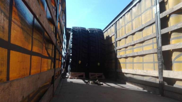 Перевозка шин MICHELIN из Испании в Казахстан