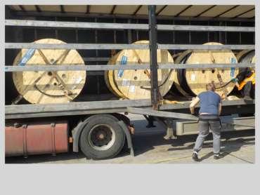 Проект по доставке катушек из Румынии в Казахстан - Karitrans