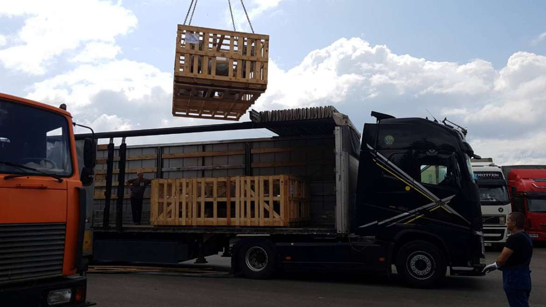 Доставка оборудования siemens из Италии в Казахстан