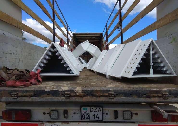 Перевозка металлоконструкций из Германии в Казахстан