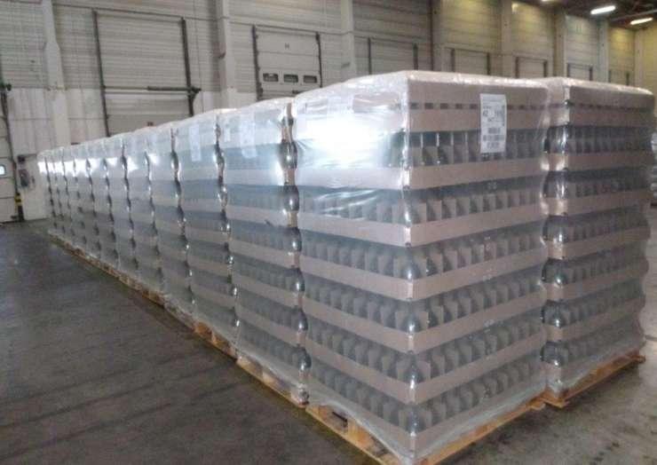 Доставка бутылки из Франции в Россию