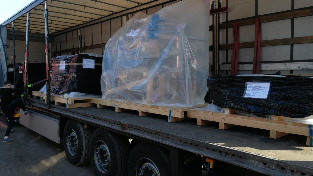 Проект по доставке оборудования из Германии в Узбекистан