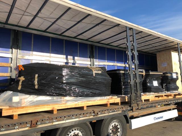 Доставка оборудования из Германии в Узбекистан