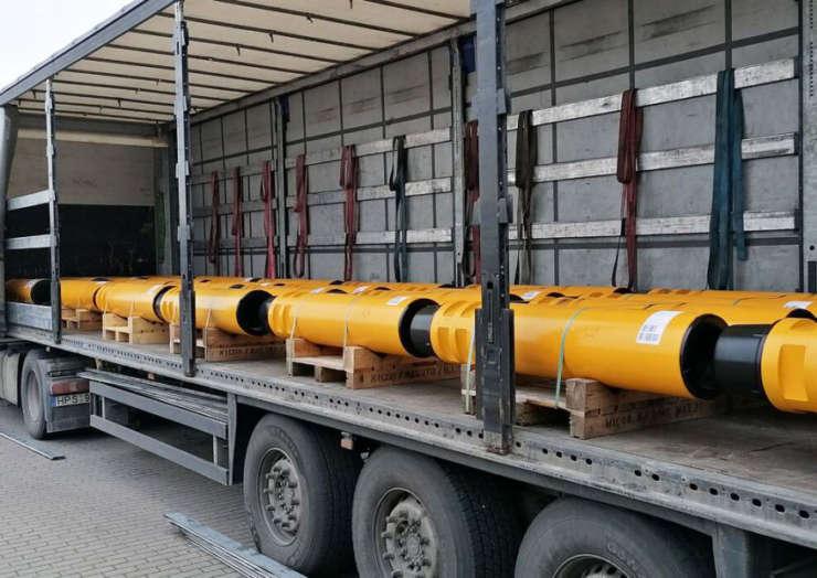 Перевозка бурильных труб из Швеции в Караганду Казахстан