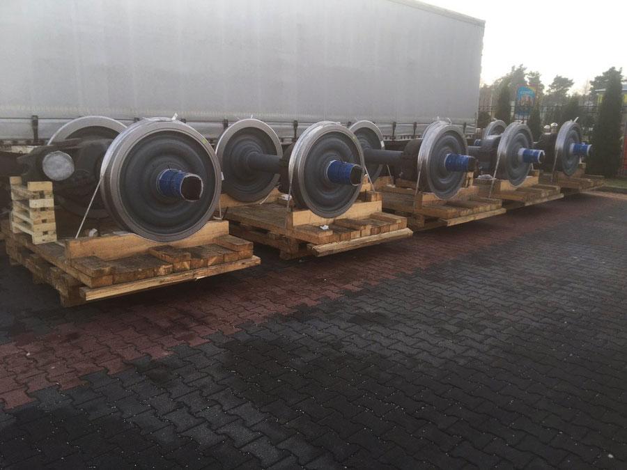 Перевозка колесных пар из Чехии в Актобе Казахстан