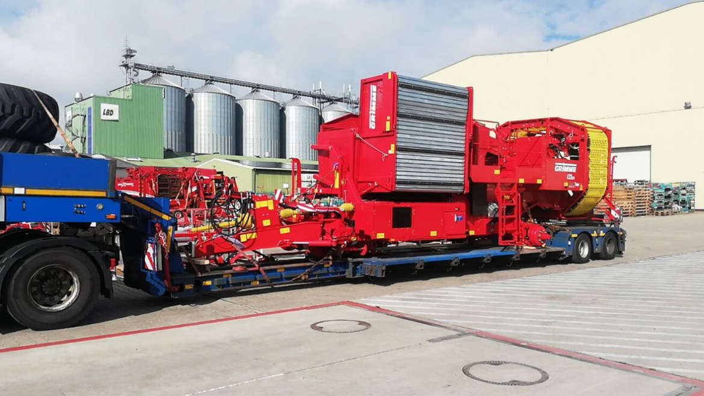Перевозка негабаритных грузов из Германии в Казахстан