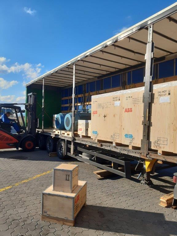Перевозка оборудования ABB из Испании в Казахстан