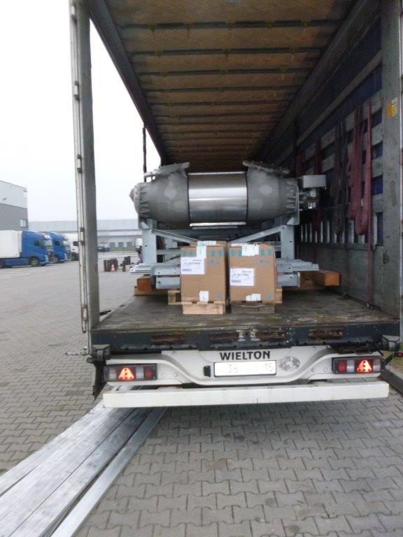 Перевозка оборудования Siemens из Германии в Жезказган Казахстан
