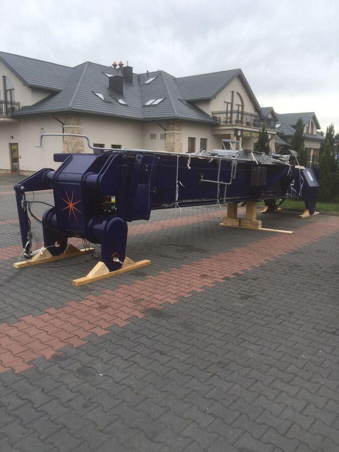 Перевозка ричстакера из Италии в Екатеринбург