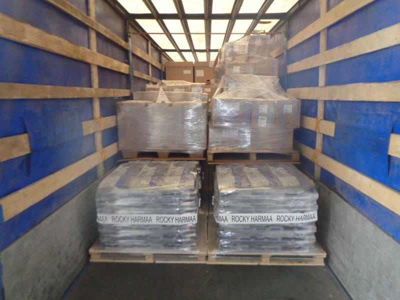 Перевозка сидений самолета из Германии в Алматы